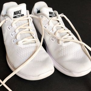 White Mike shoes